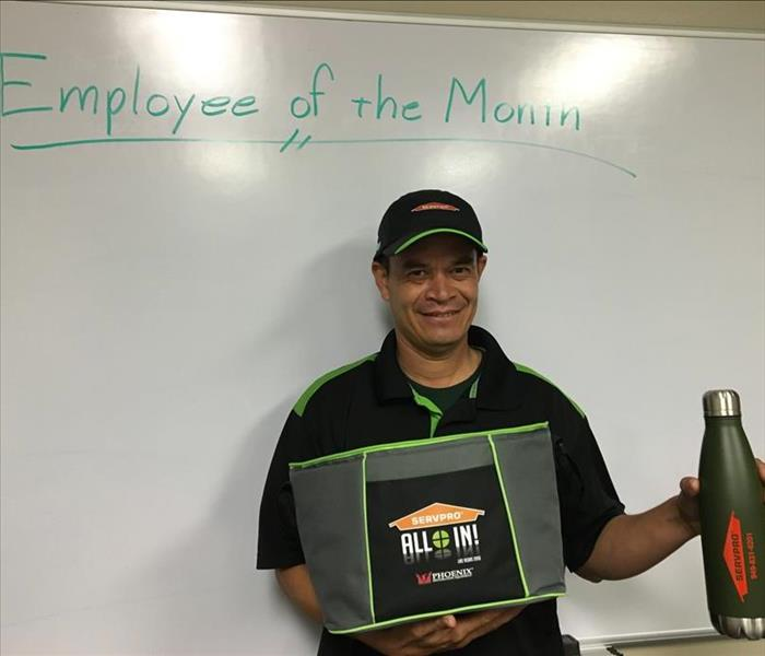 General SERVPRO of Anaheim West Employee of the Month July 2016