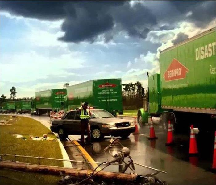 Storm Damage When Storms or Floods hit Anaheim, SERVPRO is ready!